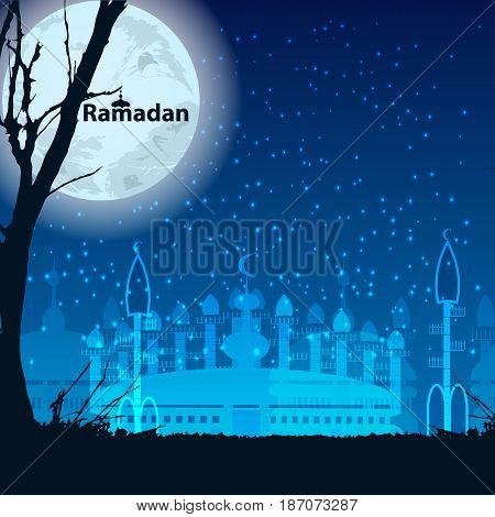 Ramadan. Illustration For Your Design