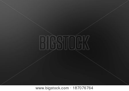 Dark grey black and white tones abstract soft blur background