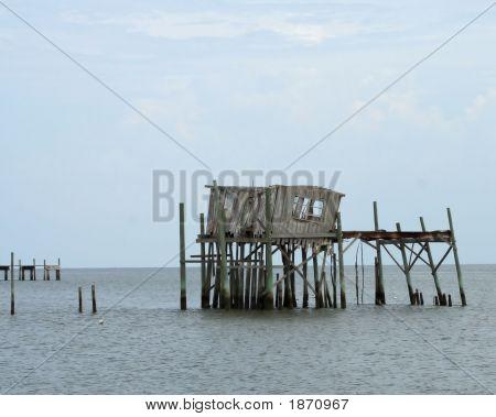 After The Hurricane Cedar Key