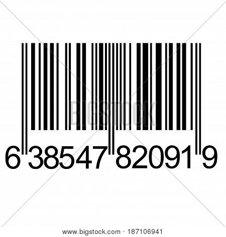 Digital unique Bar code the symbol of consumerism