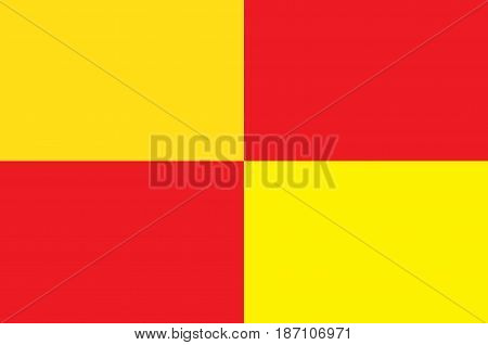 Flag of Tarbes is a commune in the Hautes-Pyrenees department in the Occitanie region of southwestern France.