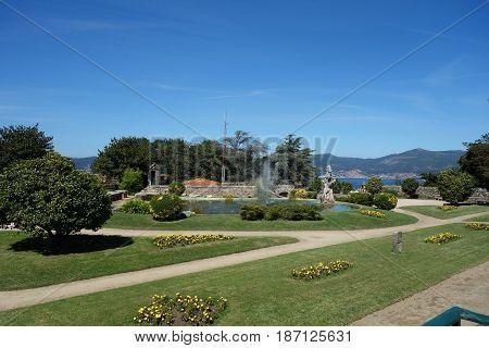 Castelo do Castro in Vigo city, Spain