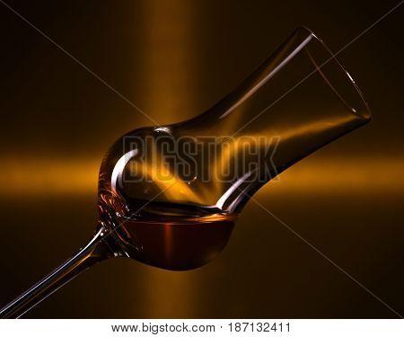 Glass With Liquor