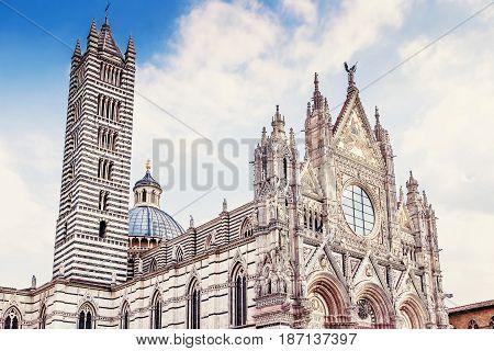Siena, Tuscany Region, Italy.
