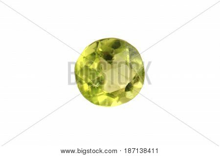 Olivine Mineral Isolated