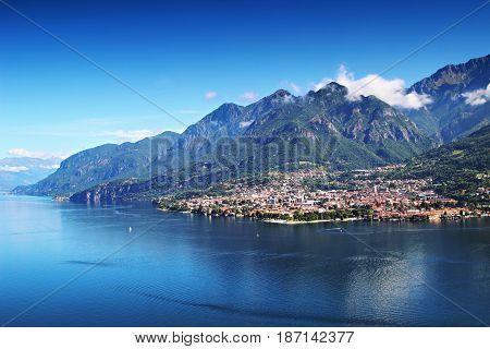 Mandello Del Lario, Como Lake, Italy.