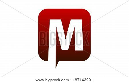 This image describe about Modern Logo Solution Letter M
