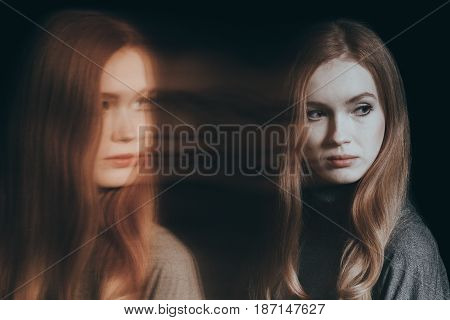 Woman With Split Personality
