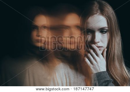 Depressed, Lonely Woman