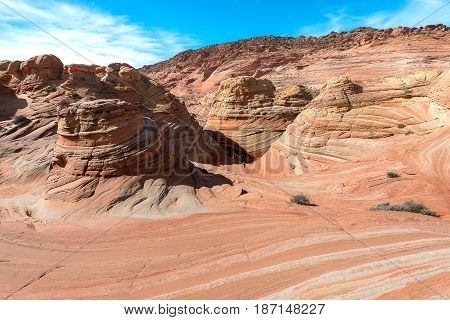 The Wave In North  Coyote Buttes, Arizona