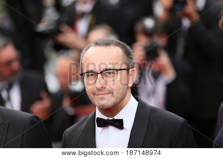 CANNES, FRANCE - MAY 18:  Andrey Zvyagintsev attends the 'Nelyobov (Loveless)' screening during the 70th Cannes Film Festival at Palais des Festivals on May 18, 2017 in Cannes, France.