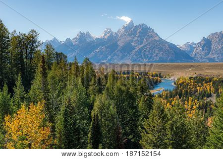 Jackson View Overlook, Grand Teton National Park