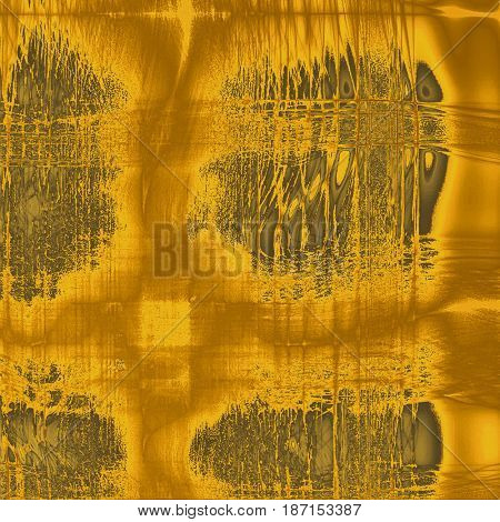 Old style distressed vintage background or texture. With different color patterns: yellow (beige); brown; gray