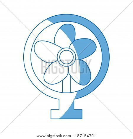 fan appliance air electricity equipment image vector illustration