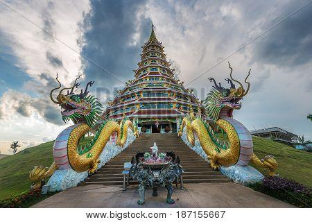 Wat Hyua Pla Kang , Chiang Rai, Thailand