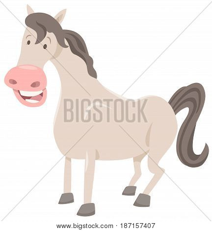Funny Horse Farm Animal