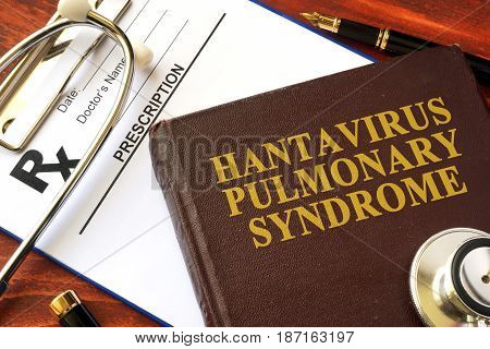 Book with title Hantavirus Pulmonary Syndrome (HPS).