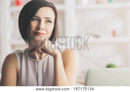 Girl At Workplace