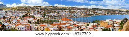 Resort Greek Architecture In Rethymno, Crete
