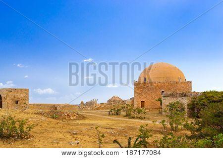 Mosque Of Sultan Ibrahim In Fortezza Castle, Crete