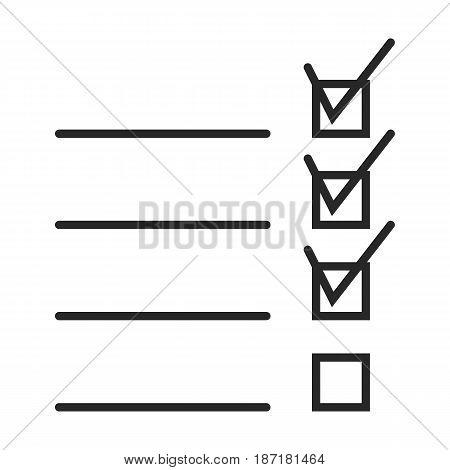 Check List Vector Icon