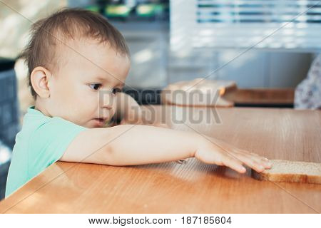 The Child Wants Bread