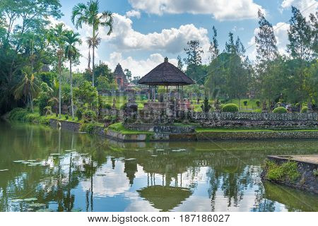 Pura Taman Ayun Balinese Temple Complex In Mengwi, Bali, Indonesia