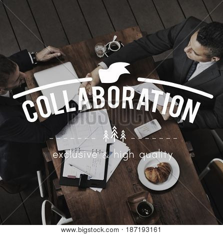Trusted Partnership Collaboration Teamwork Corporate Business