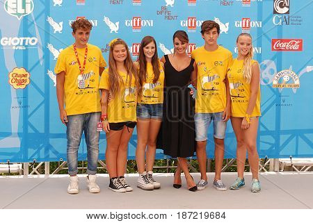 Giffoni Valle Piana Sa Italy - July 20 2014 : Lea Michele at Giffoni Film Festival 2014 - on July 20 2014 in Giffoni Valle Piana Italy