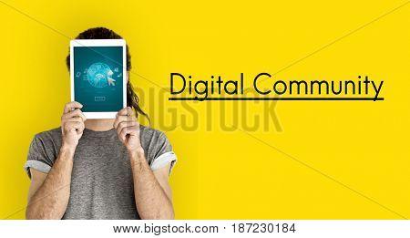 Internet Social Technology Digital Connection Device