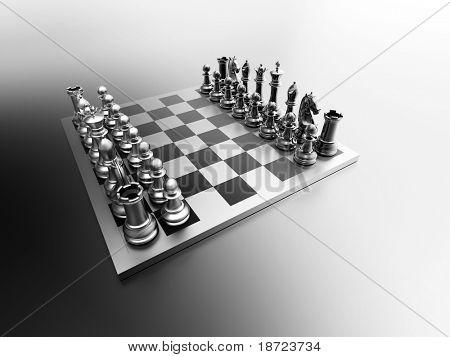 3d chess board