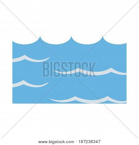 water environment conservation energy save vector illustration