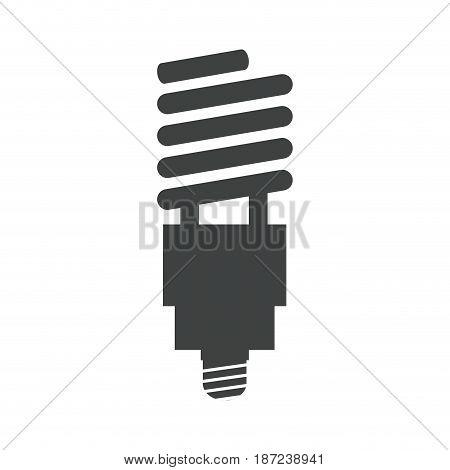 saving light bulb electricity energy pictogram vector illustration