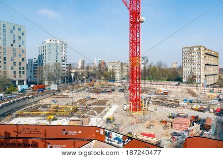 Construction Site Of Blackwall Reach