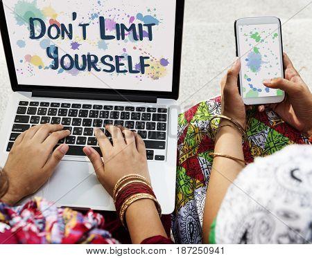 Live Yourself Limit Freedom Harmony Inspire