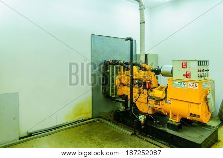 Pumping Station That Provide Proper Water Pressure, Tel-aviv