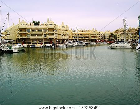 Puerto Marina is а real mini-city with houses on artificial islands. Apartments in such houses cost very much. It is possible to reach these houses either by the boat or sometimes by bridge.