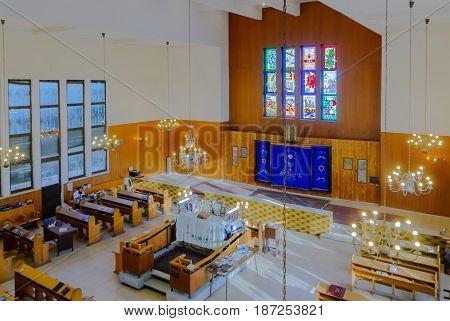 Kol Yehuda Synagogue Of The Aden Jewish Community, In Tel-aviv