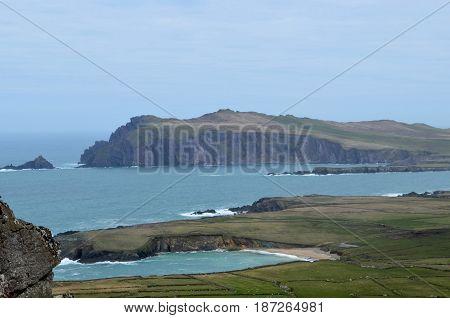 Gorgeous view of the Blasket Islands in Ireland.