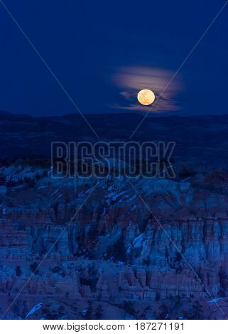 Blue Moon Over Bryce