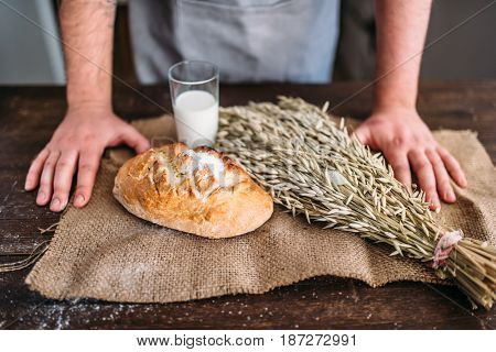 Homemade bakery concept, natural organic food