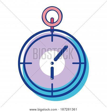 chronometer to training play games, vector illustration design