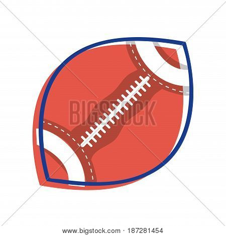 football ball to training play game sport, vector illustration