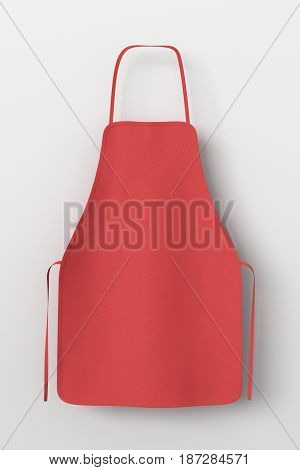 Blank Apron Isolated