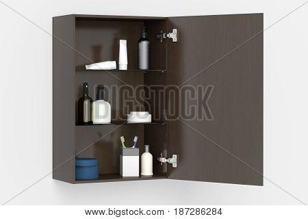 Bathroom Cabinet Isolated