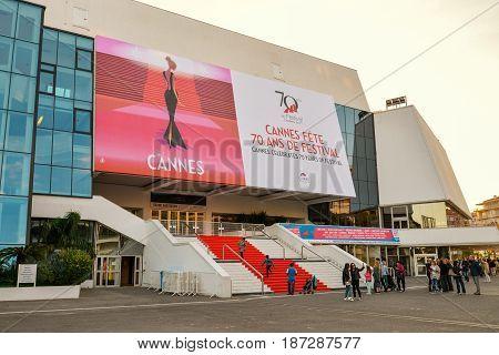Grand Auditorium Louis Lumiere In Cannes