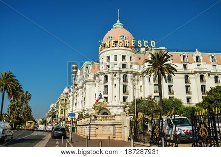 Luxury Hotel Negresco On English Promenade