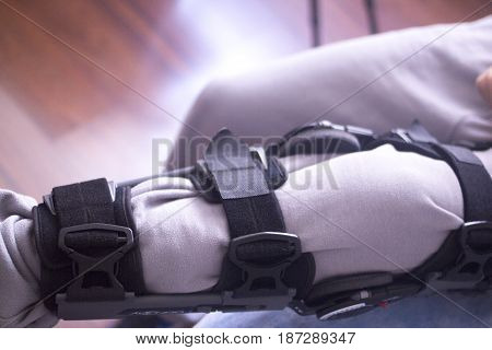 Injury Leg Brace Support