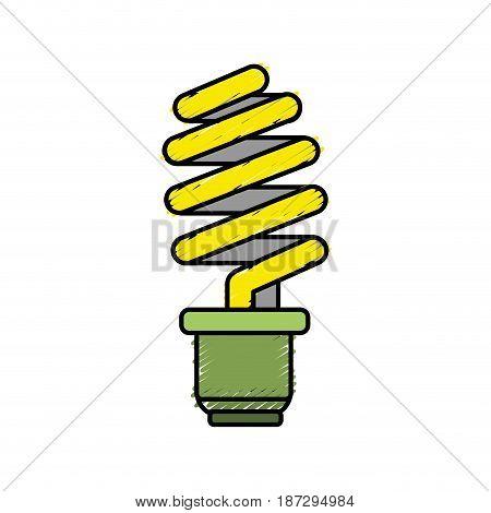 save energy light bulb, vector illustration design