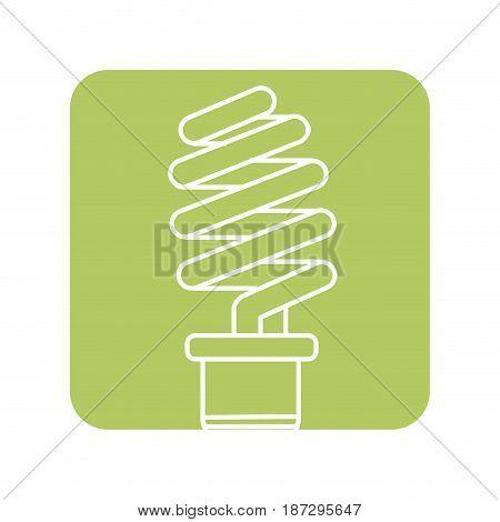 label save energy light bulb, vector illustration design
